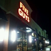 Photo taken at Five Guys by russell w. on 11/12/2011