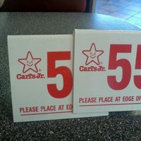 Photo taken at Carl's Jr. by Mandy Π. on 9/1/2012
