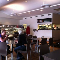 Photo taken at Cafe Aura by Carolyn H. on 1/22/2012