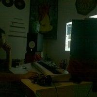 Photo taken at Lenda Music Studio by Thiago S. on 6/1/2012