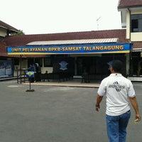 Photo taken at Unit Pelayanan BPKB Samsat Talangagung by Susmawan D. on 9/17/2011