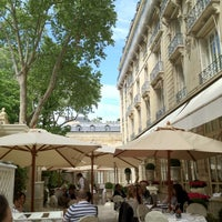 Photo taken at HÔTEL RITZ by Danica L. on 5/10/2012