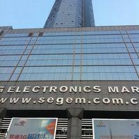 Photo taken at 赛格数码广场 SEG Electronic Market by Egemen Ç. on 9/8/2011