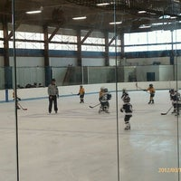 Photo taken at LoConte Rink by Penny O. on 3/18/2012