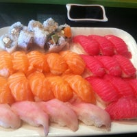 Photo taken at Sushi Garden by Martin G. on 3/22/2012