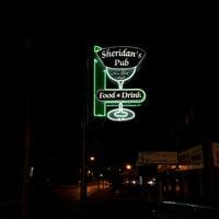 Photo taken at Sheridan's Irish Pub by Tushar K. on 11/5/2011