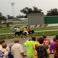Photo taken at Fair Grounds Race Course & Slots by David A. on 8/19/2012