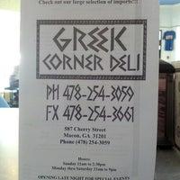 Photo taken at Greek Corner Deli by Joey T. on 6/19/2012