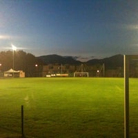 Photo taken at Campo Da Calcio Novazzano by Lorenzo C. on 9/13/2011