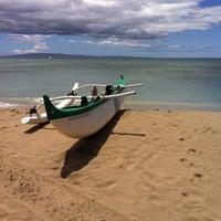 Photo taken at Ukumehame Beach by Sharilyn K. on 8/28/2011