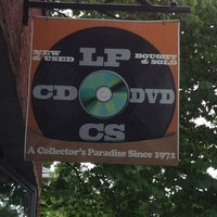 Photo taken at Val's Halla Records by Dennis N. on 6/11/2012
