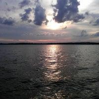 Photo taken at Lake Conroe by Sumair U. on 3/17/2012