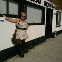Photo taken at American Beauty Tattoo Parlor by Lauren M. on 3/30/2012