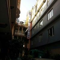 Photo taken at Hotel Himalayan Inn by Jeonghwan S. on 8/7/2012