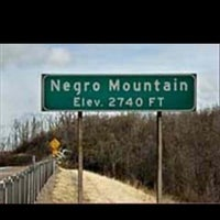 Photo taken at Negro Mountain by ✊Scott L. on 8/8/2012
