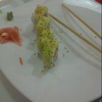 Photo taken at Fiji Sushi Bar by Víctor Hugo P. on 2/10/2012