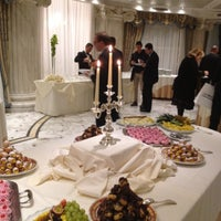 Photo taken at Grand Hotel Des Bains by Emanuela T. on 3/6/2012