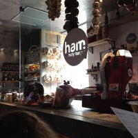 Photo taken at Ham Holy Burger by A A. on 2/26/2012