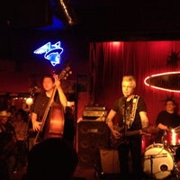 Photo taken at The Continental Club by Felicia F. on 2/19/2012