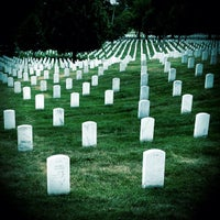 Photo taken at Arlington National Cemetery by Chris E. on 7/13/2012