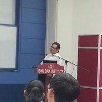 Photo taken at Lecture Theatre 2 Ibnu Sina by Mohd N. on 6/14/2012