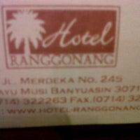 Photo taken at Hotel Ranggonang by Sigit B. on 6/20/2012