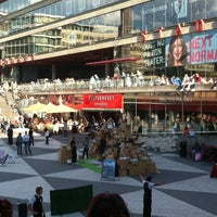 Photo taken at Sergels Torg by Katerina 🍒 on 8/24/2012