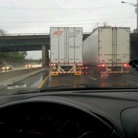 Photo taken at Traffic HELL!  by Courtney H. on 3/15/2012