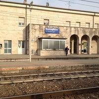 Photo taken at Stazione di Domegliara by Simone P. on 3/31/2012
