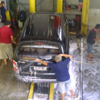 Photo taken at Auto Care Car Wash by Onny P. on 5/17/2012