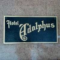 Photo taken at The Adolphus by Andrew on 6/16/2012