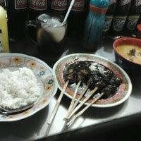 Photo taken at Warung Sate Ayam Madura by wisnu p. on 8/28/2011