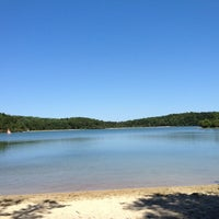 Photo taken at Cliff Pond by Jim Y. on 7/22/2012