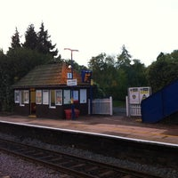 Photo taken at Seer Green Railway Station (SRG) by Andrew L. on 10/6/2011