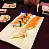 Photo taken at Yummy Sushi by Mikey on 2/20/2012