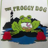Photo taken at The Froggy Dog by Nathan D. on 7/31/2011