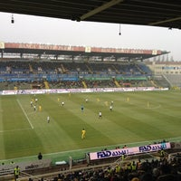 Photo taken at Stadio Ennio Tardini by Alberto E. on 1/15/2012