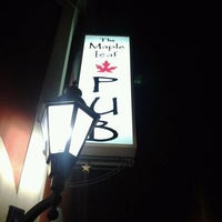 Photo taken at The Maple Leaf Pub by Cherie H. on 1/21/2012