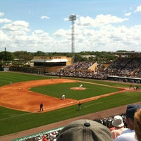 Photo taken at Publix Field at Joker Marchant Stadium by glenn on 3/15/2012