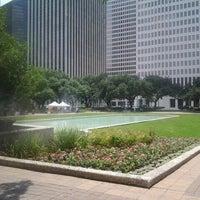 Photo taken at Tranquility Park by Karen H. on 6/6/2012