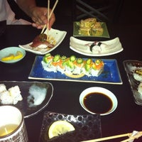 Photo taken at Sushi Kawa Sports Bar & Grill by Brianne C. on 10/8/2011
