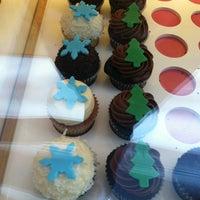 Photo taken at Kara's Cupcakes by Melissa B. on 12/8/2011