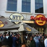 Photo taken at Hard Rock Cafe Yankee Stadium by Kai B. on 5/12/2011