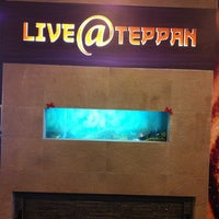 Photo taken at Live@Teppan by U Y. on 5/22/2012