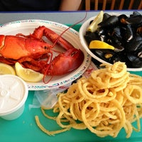 Photo taken at Arnold's Lobster & Clam Bar by Olivia L. on 6/20/2012