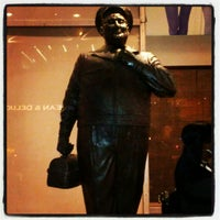 Photo taken at Ralph Kramden Statue by Leo h. on 6/5/2012