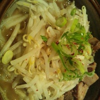 Photo taken at 光麺 六本木店 by Katsumi H. on 12/14/2011