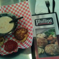 Photo taken at Phillips Famous Seafood by B Jeffrey J. on 3/8/2012