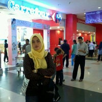 Photo taken at Carrefour by Teguh R. on 3/10/2012