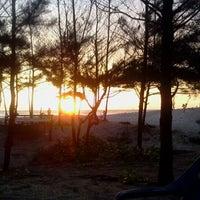 Photo taken at Pantai Panjang (Long Beach) by Indra L. on 1/20/2012